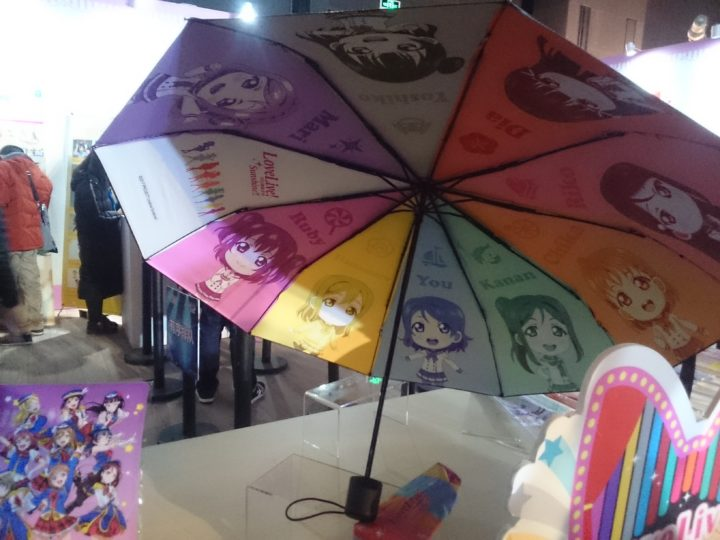 ラブライブ 折りたたみ傘 -ラブライデイズ!